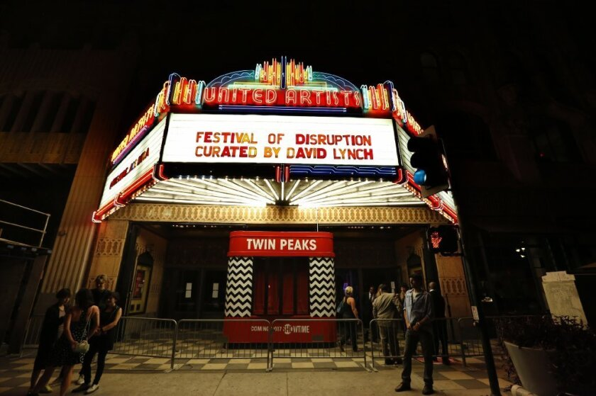 The David Lynch Festival of Disruption played out a the Ace Hotel on Oct. 8, featuring music from Robert Plant and St. Vincent along with an array of talks and film screenings.