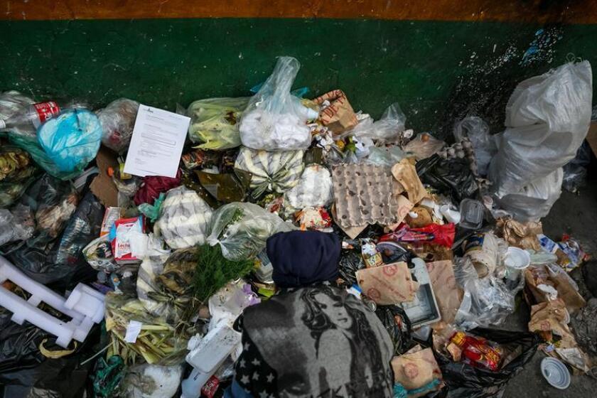 """El desperdicio de alimentos es responsable de la generación de 193 millones de toneladas de gases de efecto invernadero (GEI) en América del Norte, una cifra que descontrola las emisiones de la región, desveló este jueves el estudio """"Por qué y cómo cuantificar la pérdida y el desperdicio de alimentos"""". EFE/Archivo"""