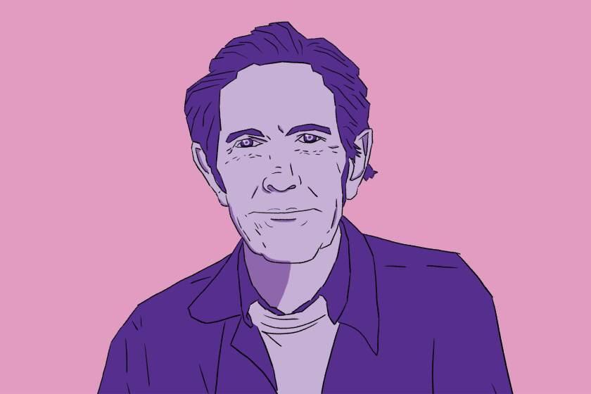 Illustration of John Cage