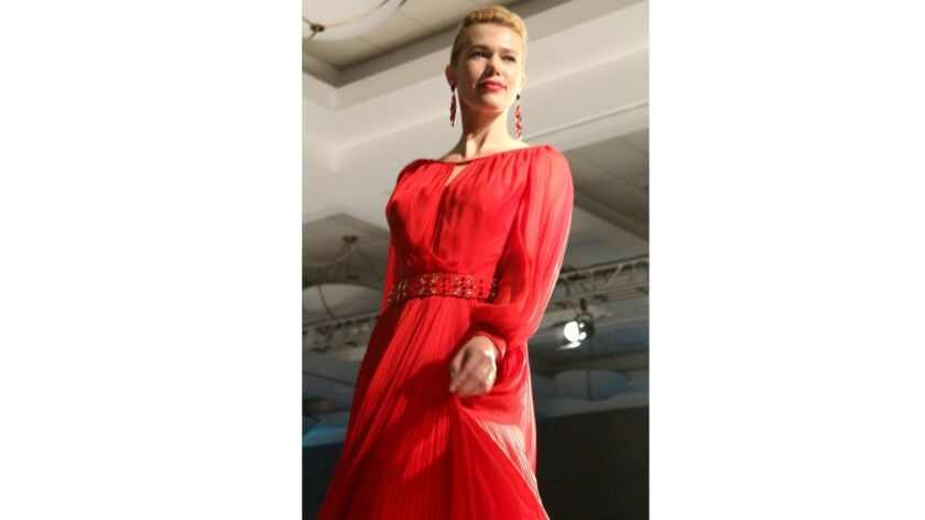 The fashions of designer Lourdes Chavez were the hit of the Las Candelas 66th Anniversary Benefit.