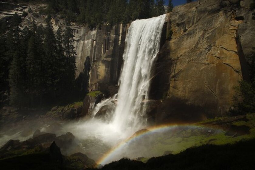 A 73-year-old hiker fell to his death at Vernal Fall, a popular Yosemite waterfall.