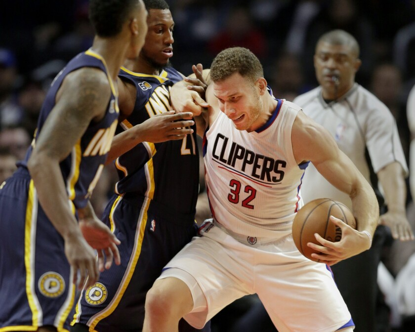 Indiana Pacers at Los Angeles Clippers