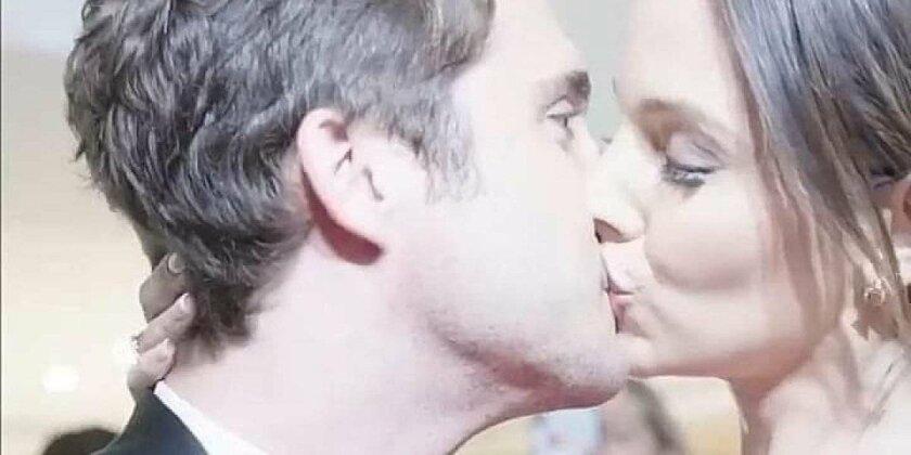 La chilena Daniela Palavecino besa al mexicano Diego Boneta en un video que ha generado controversia.