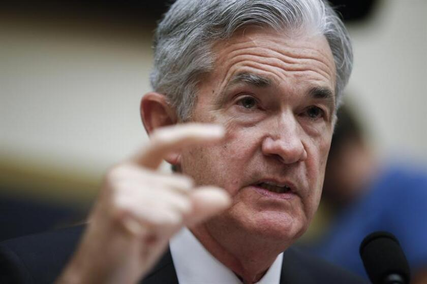 US Federal Reserve Board Chairman Jerome Powell testifies during the House Financial Services Committee hearing on 'Monetary Policy and the State of the Economy', in Washington, DC, United States, July 18, 2018. EPA-EFE FILE/Shawn Thew