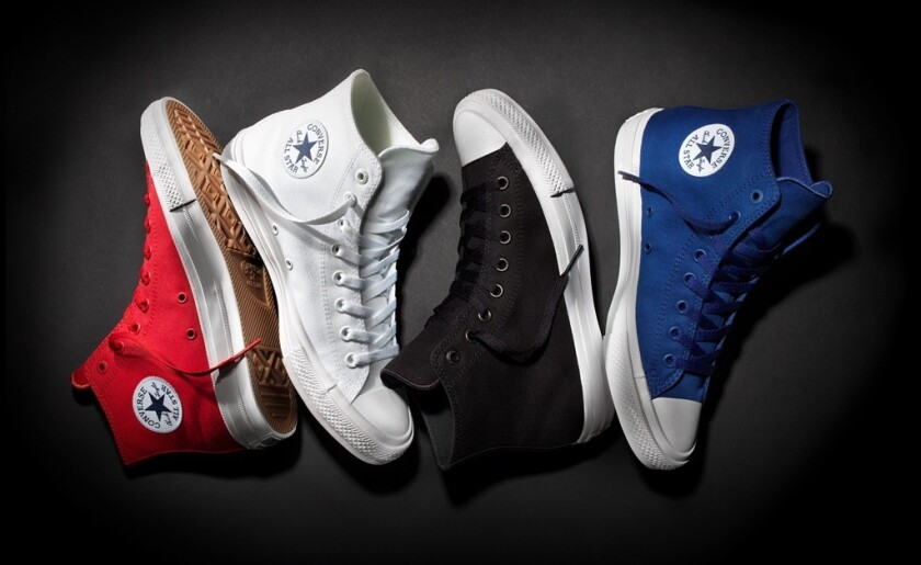 Converse to Debut Chuck Taylor All Star II