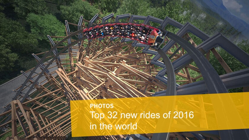 Let's take a closer look at the 32 most-anticipated additions planned for 2016 at theme parks around the world.