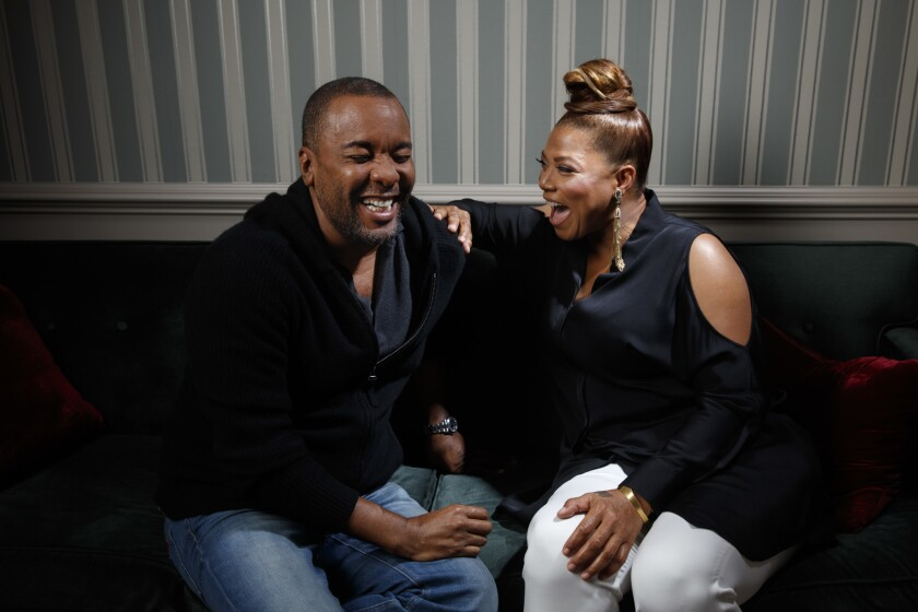 Lee Daniels and Queen Latifah on 'Star'