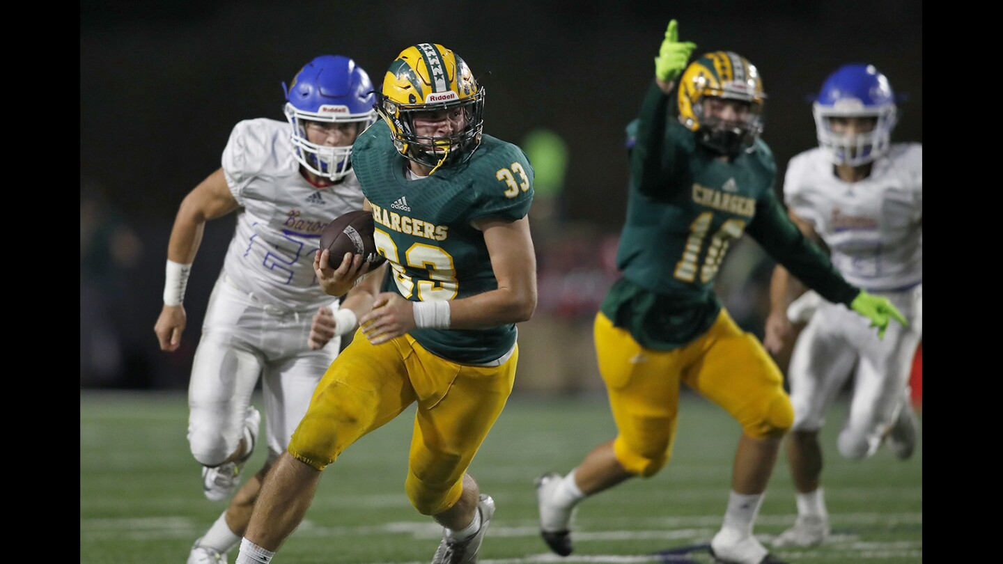 Photo Gallery:  Edison High vs. Fountain Valley Battle for the Bell football game