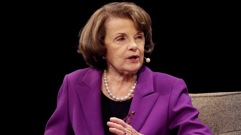 is u s sen dianne feinstein too old to run again it s up to voters to decide los angeles times is u s sen dianne feinstein too old