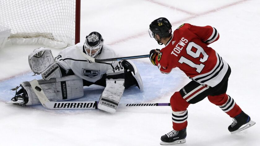 Goalie Cal Petersen S First Start Is A Nice Homecoming In Kings