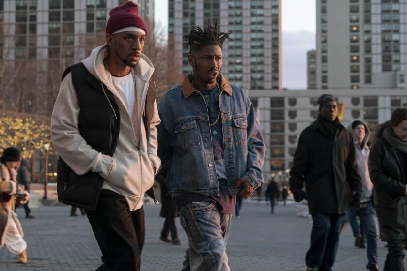 "Siddiq Saunderson and T.J. Atoms in Hulu's ""Wu-Tang: An American Saga"""