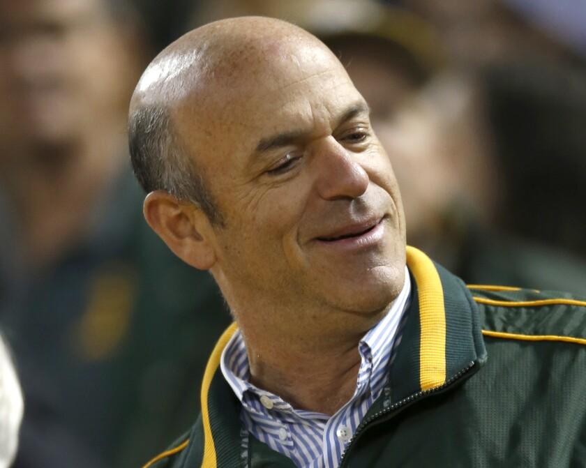 Oakland Athletics managing partner John Fisher.