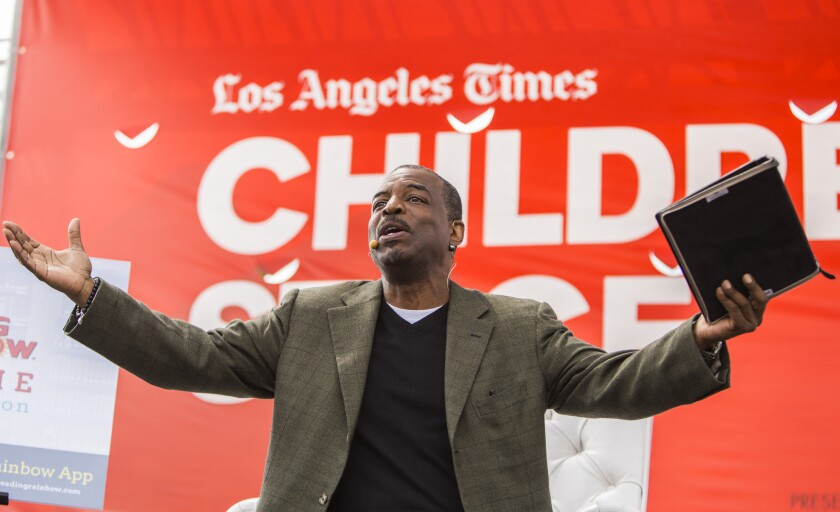 "Actor and ""Reading Rainbow"" host LeVar Burton will publish his first children's book this fall."