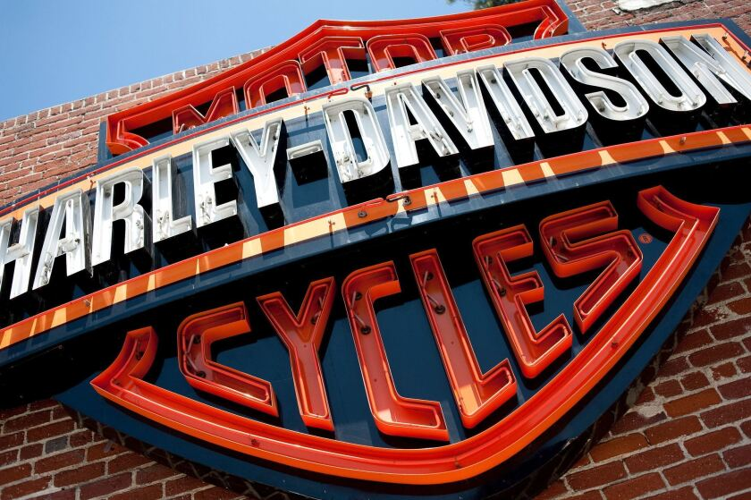 Harley-Davidson was fined $15 million to settle a U.S. government complaint over air pollution.