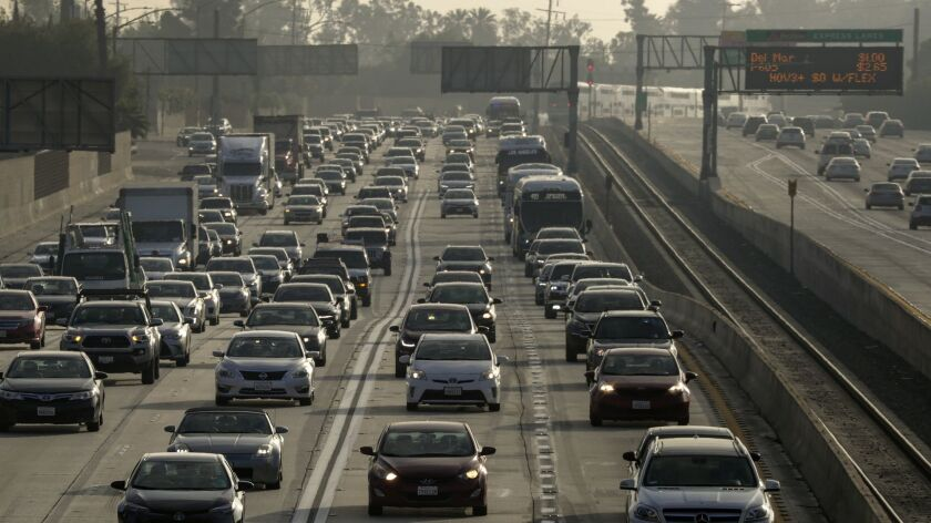 L A  may charge drivers by the mile, adding freeway tolls to