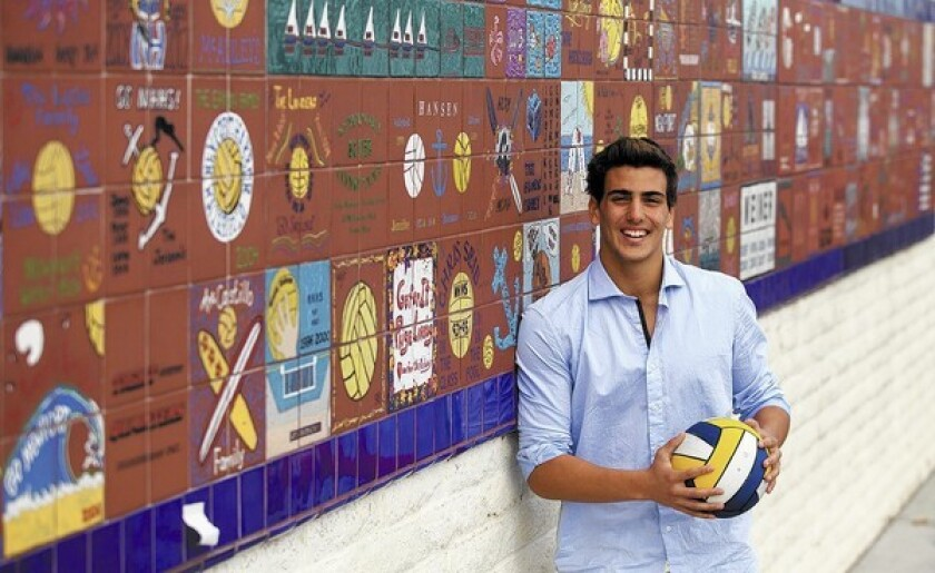 Newport Harbor High senior Luca Cupido is the Dream Team Player of the Year.