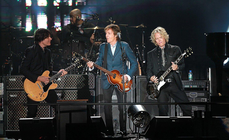 Paul McCartney at Petco