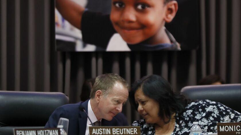 LOS ANGELES, CALIF. - JUNE 12, 2018. Los Angeles Unified School District Superintendent Austin Bue