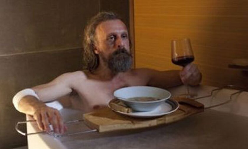 """Jan Bijvoet portrays a wanderer who insinuates himself into an upper-middle-class family in """"Borgman."""""""