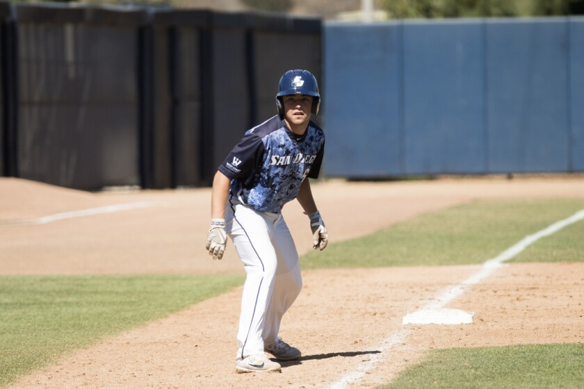 USD senior Paul Kunst is a three-year starter who is versatile enough to play the infield or the outfield for the Toreros.