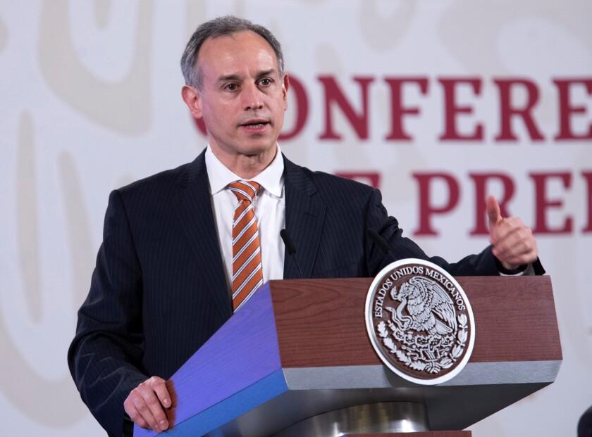 El subsecretario de Salud Hugo López-Gatell