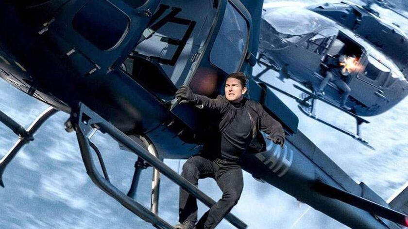 """""""Mission: Impossible — Fallout"""" posted the best-ever debut for the series, with $61.5 million in its opening weekend, proving both the enduring appeal of the 20-year-old franchise and that Tom Cruise can still do his own stunts."""