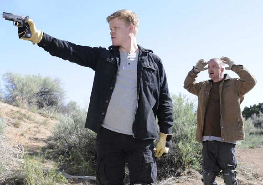 "Jesse Plemons and Aaron Paul in the ""Breaking Bad"" episode ""Dead Freight."""
