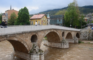 A Minute Away: The Sarajevo bridge where World War I began