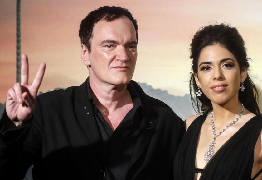 US filmmaker Quentin Tarantino (L) with his wife Daniela Pick (R) at the Italian Premiere and red carpet of the movie, Once upon a time in... Hollywood, in Rome, Italy, 02 August 2019. EFE/EPA/Riccardo Aantimiani/File