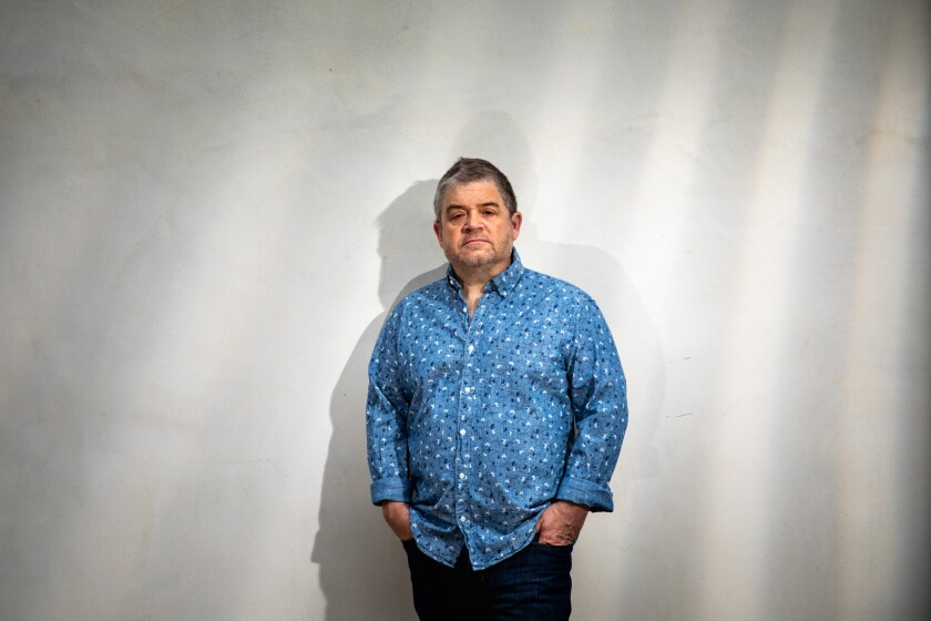 "Patton Oswalt appears in HBO's ""I'll Be Gone in the Dark."""