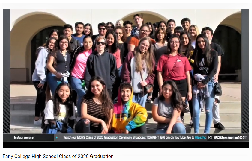 Early College High School's Class of 2020.