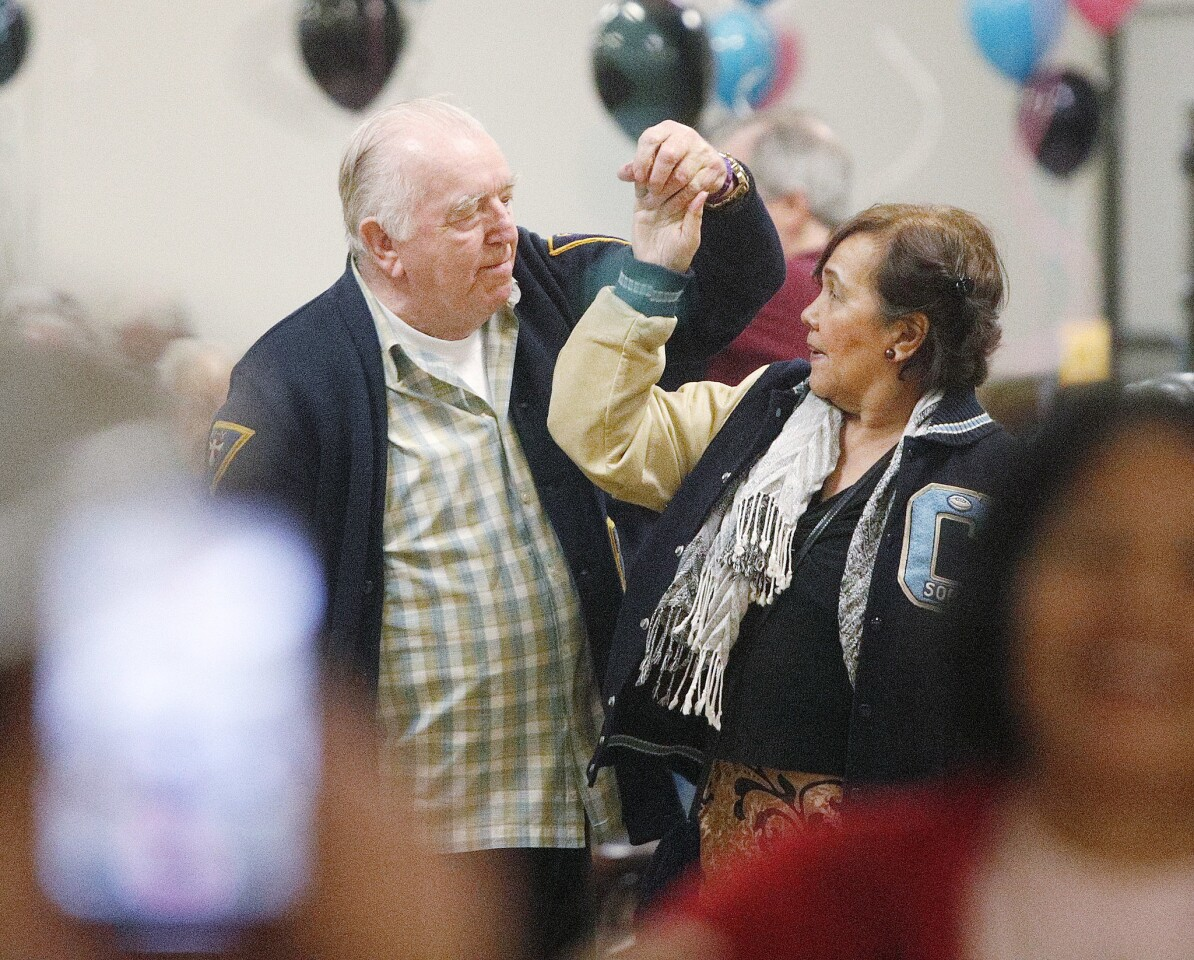 Photo Gallery: Sock hop at Joslyn Center in Burbank