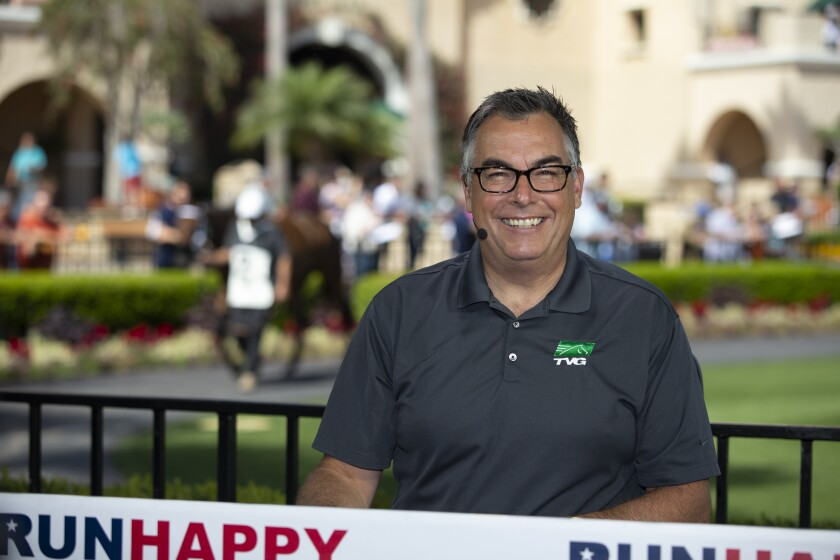 Todd Schrupp has been a host at TVG for all of its 20 years of existence.