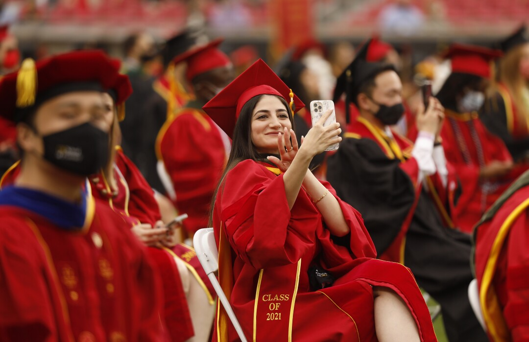 Photos: First USC diploma at the Colosseum in 71 years