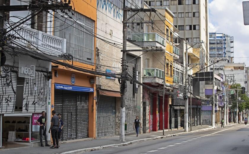 Sector salud en Brasil advierte de escasez de equipo médico - San ...