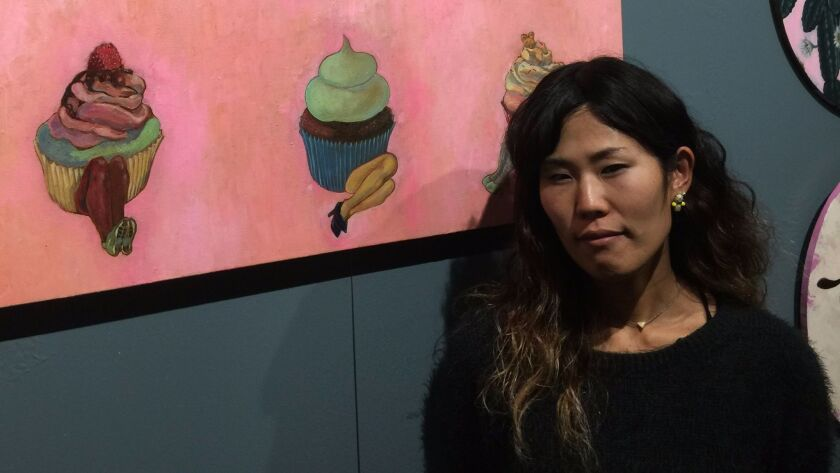 Mieko Anekawaa combines many influences in her art. Learn more at miekomieko.com