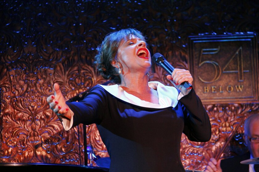 Patti LuPone will perform on Jan. 31 at the Balboa Theatre as part of La Jolla Music Society's cabaret series.