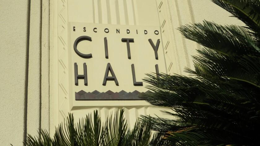 The Escondido City Hall