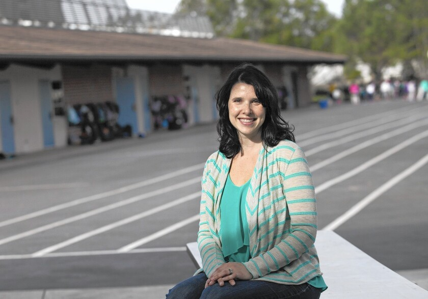 Irvine parent Heather King is leading an effort to start a Spanish language immersion program through the Irvine Unified School District. The district says there are some hurdles to implementing the program.