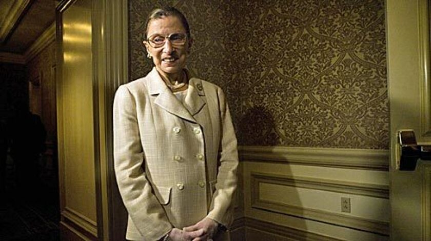 Supreme Court Justice Ruth Bader Ginsburg was a relentless defender of women's reproductive rights.