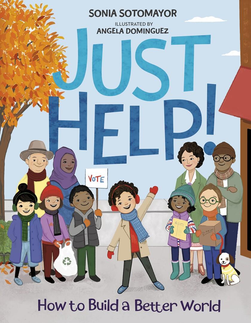 """La carátula distribuida por la editorial Penguin Young Readers muestra """"Just Help!"""","""