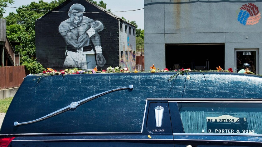 Muhammad Ali's funeral
