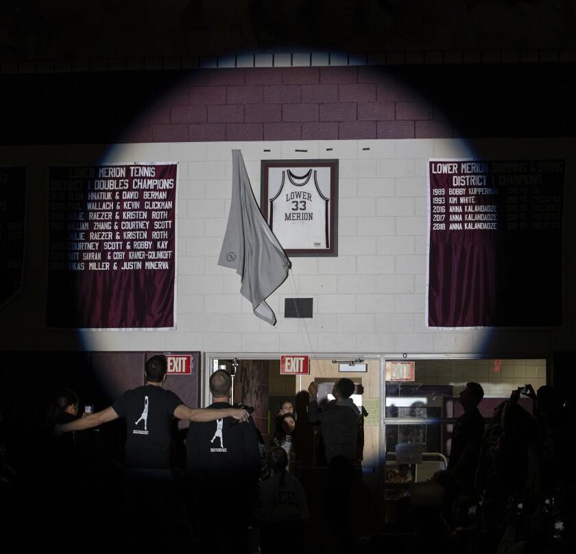 Kobe Bryant Lower Merion tribute