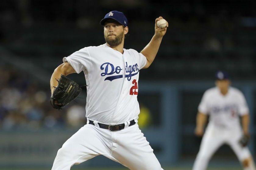 Dodgers ace Clayton Kershaw
