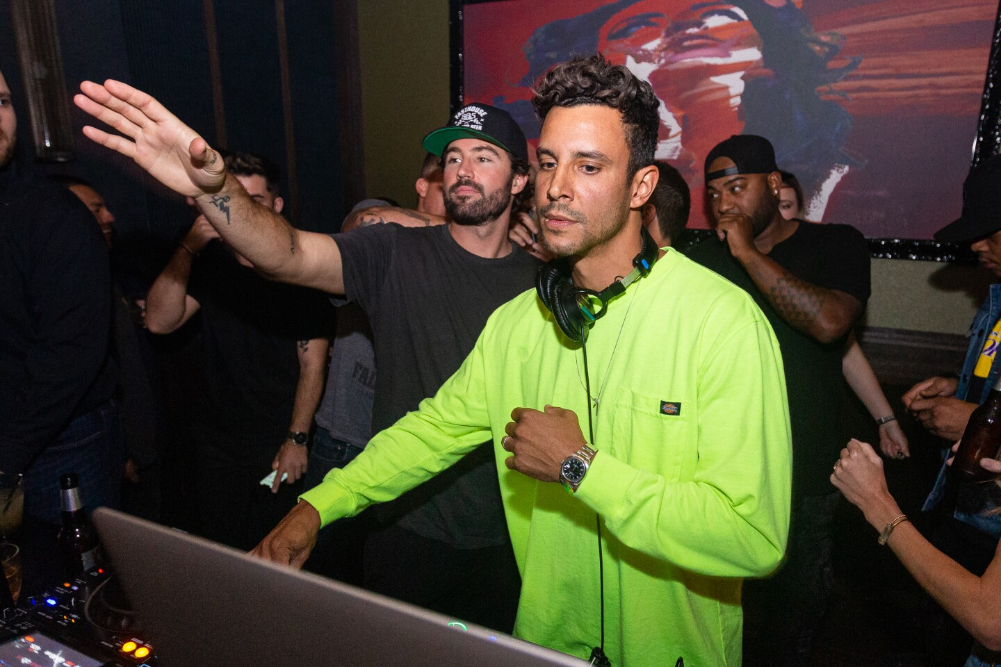 "Brody Jenner took a break from ""The Hills: New Beginnings"" to spin at Oxford Social Club on Sunday, Sept. 1, 2019."