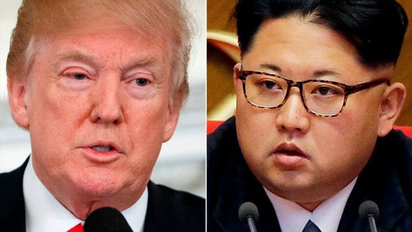 If President Trump meets with Kim Jong Un, it will be the first U.S.-North Korean leadership summit in more than six decades of hostility since the 1950-53 Korean War.