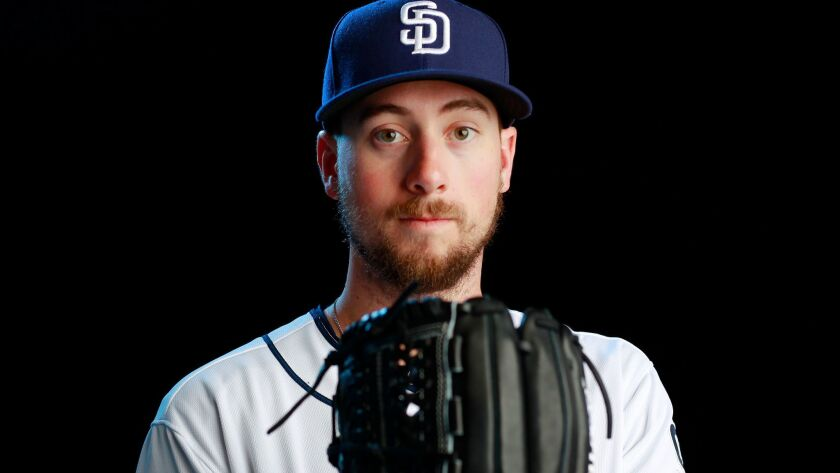 San Diego Padres pitcher Kyle McGrath.
