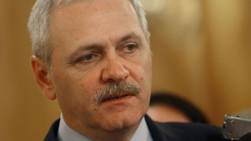 Social Democratic Party leader Liviu Dragnea is on trial on charges of abuse of power.