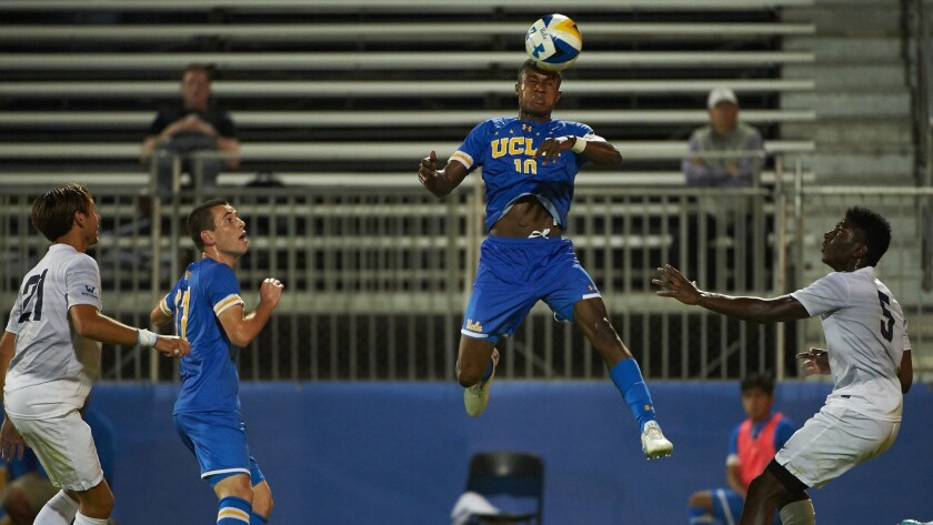 UCLA Men's Soccer versus USD