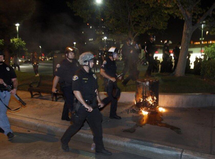 Anaheim violence